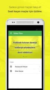 İddaa Planı - Mobile Application Index Page Screenshot