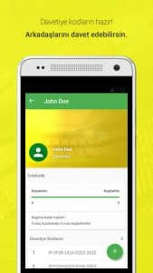 İddaa Planı - Mobile Application Profile Page Screenshot