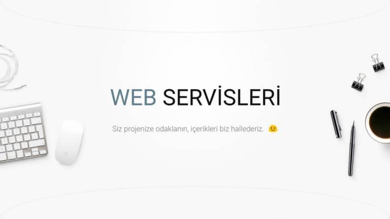 Web Servisleri Cover Image