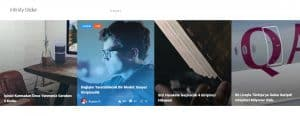 Girişimci Kafası Infinity Slider Page Screenshot