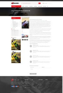 MotoPlus Blog Detail Page Screenshot