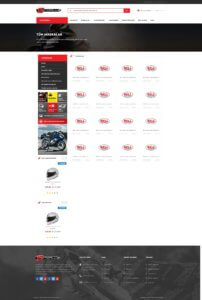 MotoPlus Brands Page Screenshot
