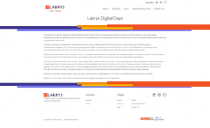 Labrys Consulting Labrys Digital Days Page Screenshot
