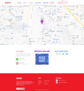 BEBETO İletişim Page Screenshot