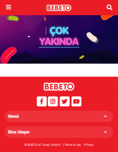 BEBETO Game Island Mobile Page Screenshot